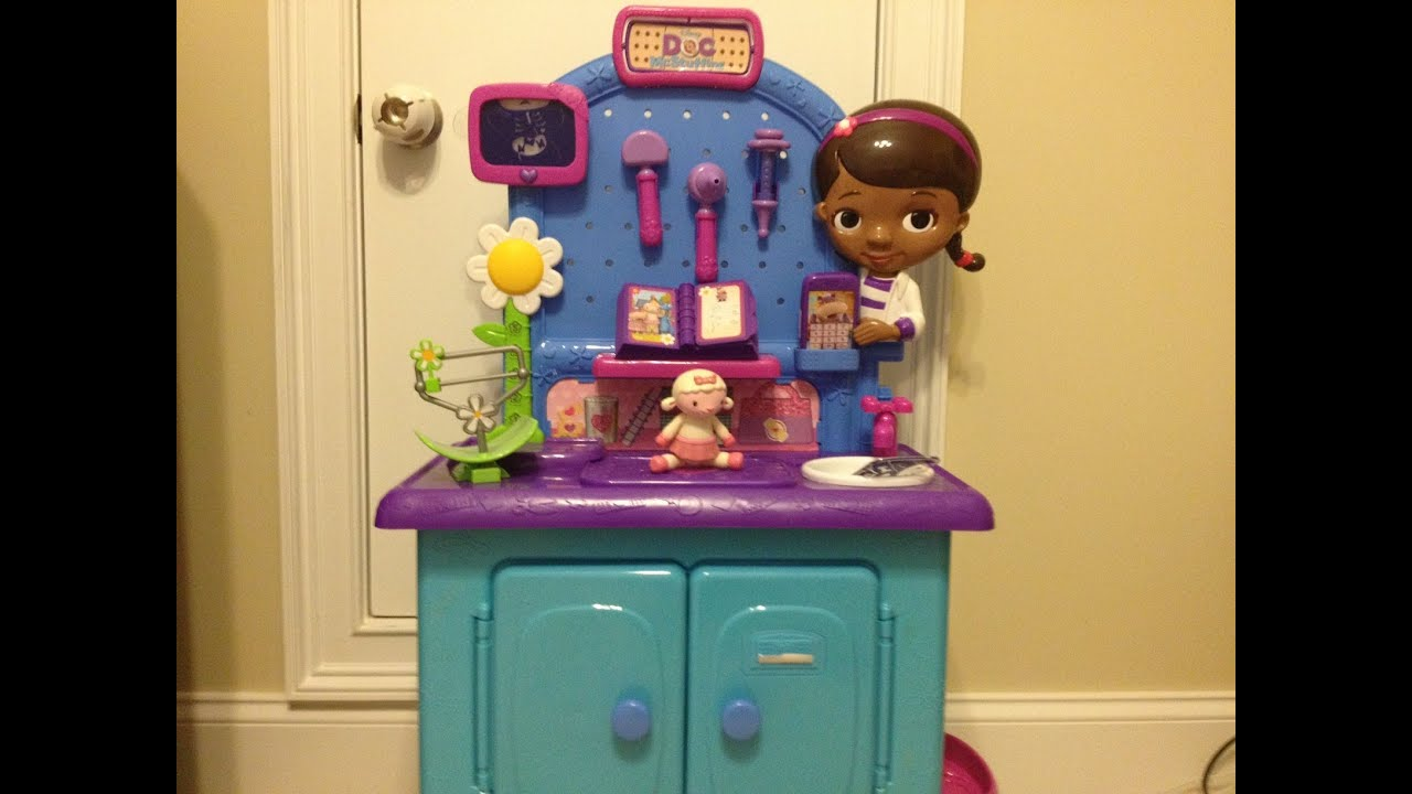 Doc Mcstuffins Upholstered Chair Uk Isokinetic Ball Play Kitchen Set Walmart Playsets For Children