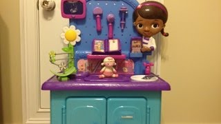 Doc McStuffins Get Better Checkup Center Playset Unboxing and Review