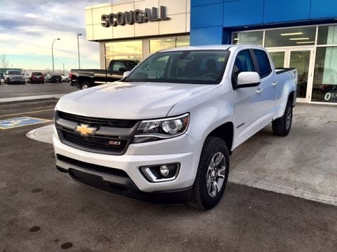 Test Drive The White 2017 Chevrolet Colorado Z71 4wd Cc With Nilothefilipino At Scougall Motors
