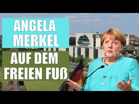 Angela Merkel auf dem freien Fuß – alles Verschwörungstheorien!!!
