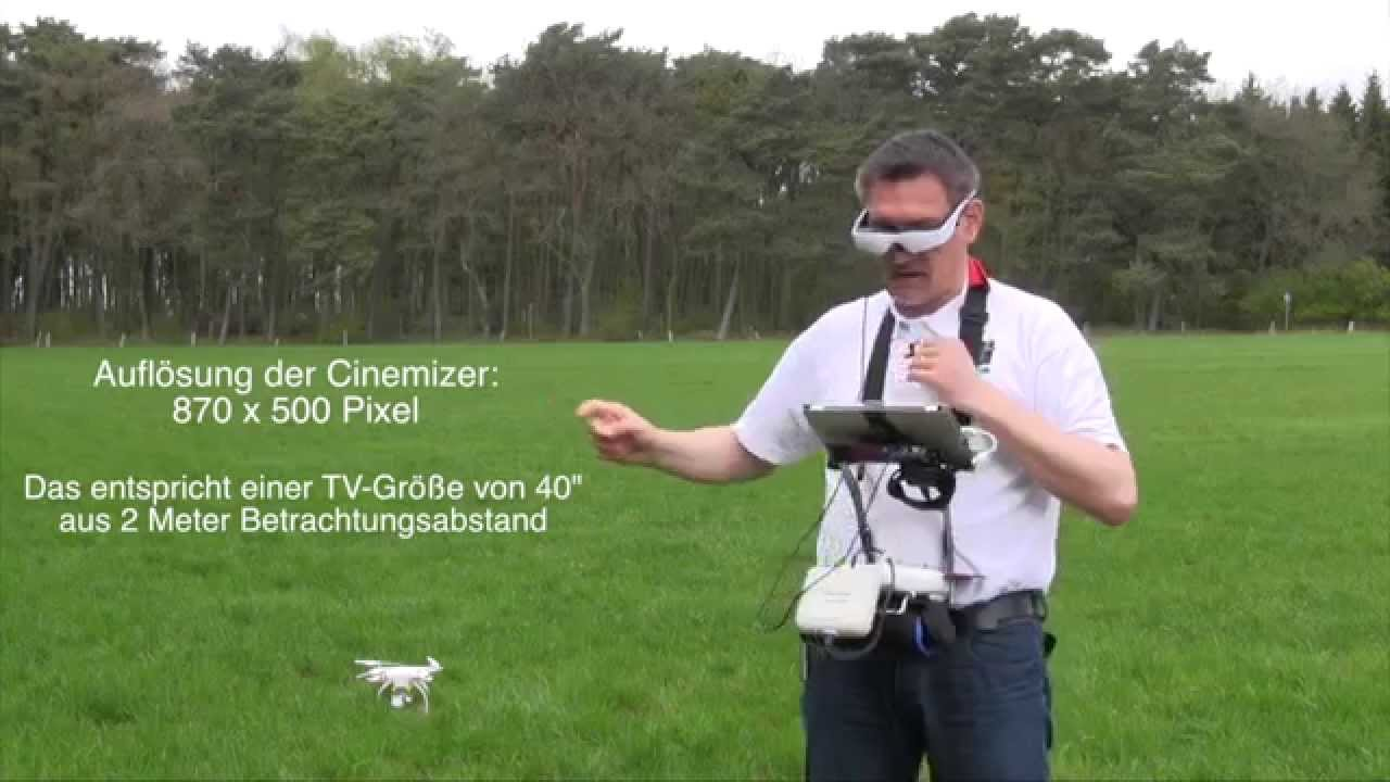 dji phantom 2 vision 10 zeiss cinemizer oled f r fpv deutsche version youtube. Black Bedroom Furniture Sets. Home Design Ideas