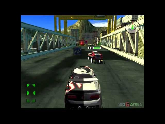 Destruction Derby Arenas - Gameplay PS2 HD 720P