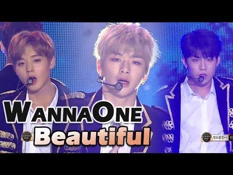 [2017 MBC Music festival]Wanna One - Beautiful,워너원- Beautiful 20171231