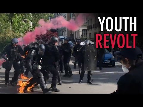 European youth seek revolution