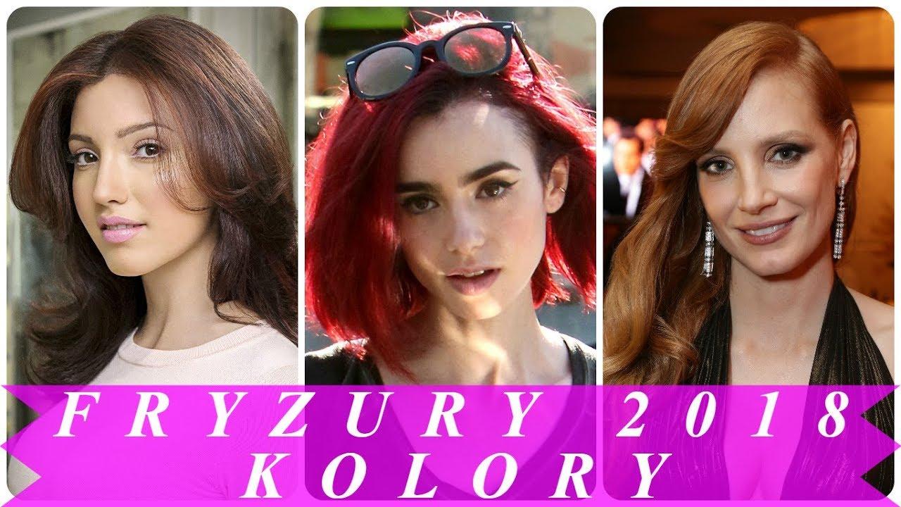 Najmodniejszy Kolor Włosów 2018
