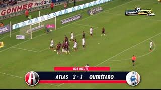 Los goles del: Atlas vs Querétaro (2 - 1)