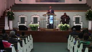 """Sr Minister Tucker - """"Wait On The Lord"""""""