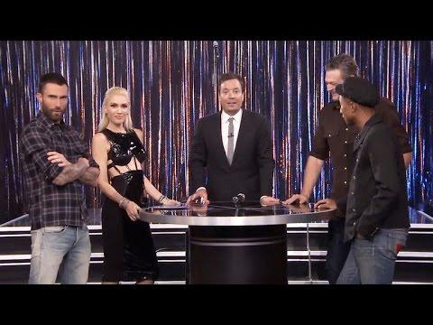 Blake Shelton and Gwen Stefani Hilariously Duet to Drake's 'Hotline Bling'