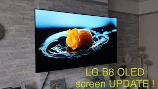 LG B8 OLED screen issue UPDATE !