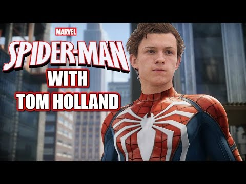 Spider-Man PS4 with Tom Holland Voice Over
