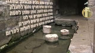 """ירושמימה- מישיבת הכותל רואים את ירושלים של מעלה. """"מים בירושלים""""- הרב גדי שלוין"""