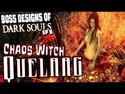 Chaos Witch Quelaag || Boss Designs of Dark Souls ep 8