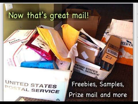 Freebie, Samples prize mail and more!  6-28
