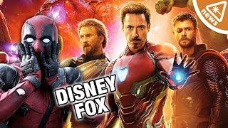 Should MCU Fans Be Worried about the Disney-Fox Deal? (Nerdist News w/ Jessica Chobot)
