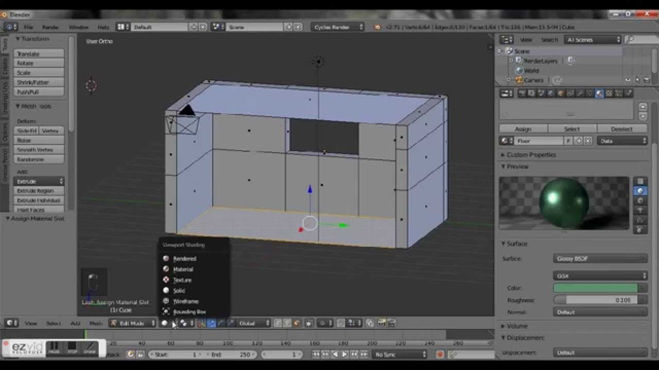 Room Modeling modeling a room for beginners | blender - youtube