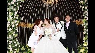 Đám cưới Vũ Ngọc Ánh - Anh Tài: Dàn sao Việt rạng rỡ đi ăn cưới, cô dâu chú rể ngập tràn hạnh phúc