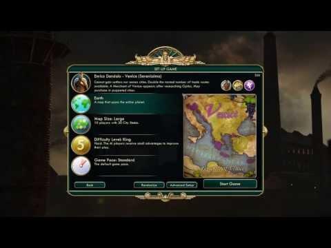 Civilization V - Venice Walkthrough 1080p! PC
