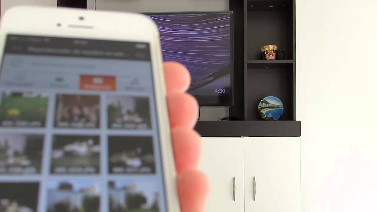 how to play iphone videos on samsung tv