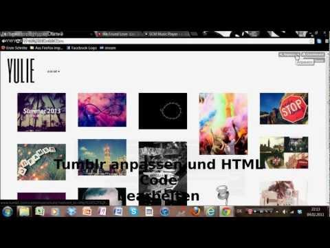 Musik bei Tumblr einfügen HD