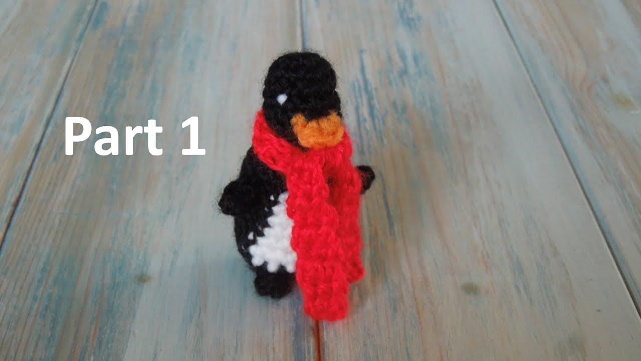Tutorial Amigurumi Pinguino : Crochet pt1: how to crochet a mini penguin yarn scrap friday