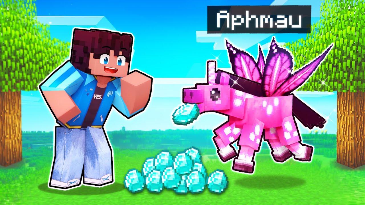 Download My SECRET Pink Unicorn PRANK In Minecraft!