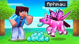 My SECRET Pink Unicorn PRANK In Minecraft!