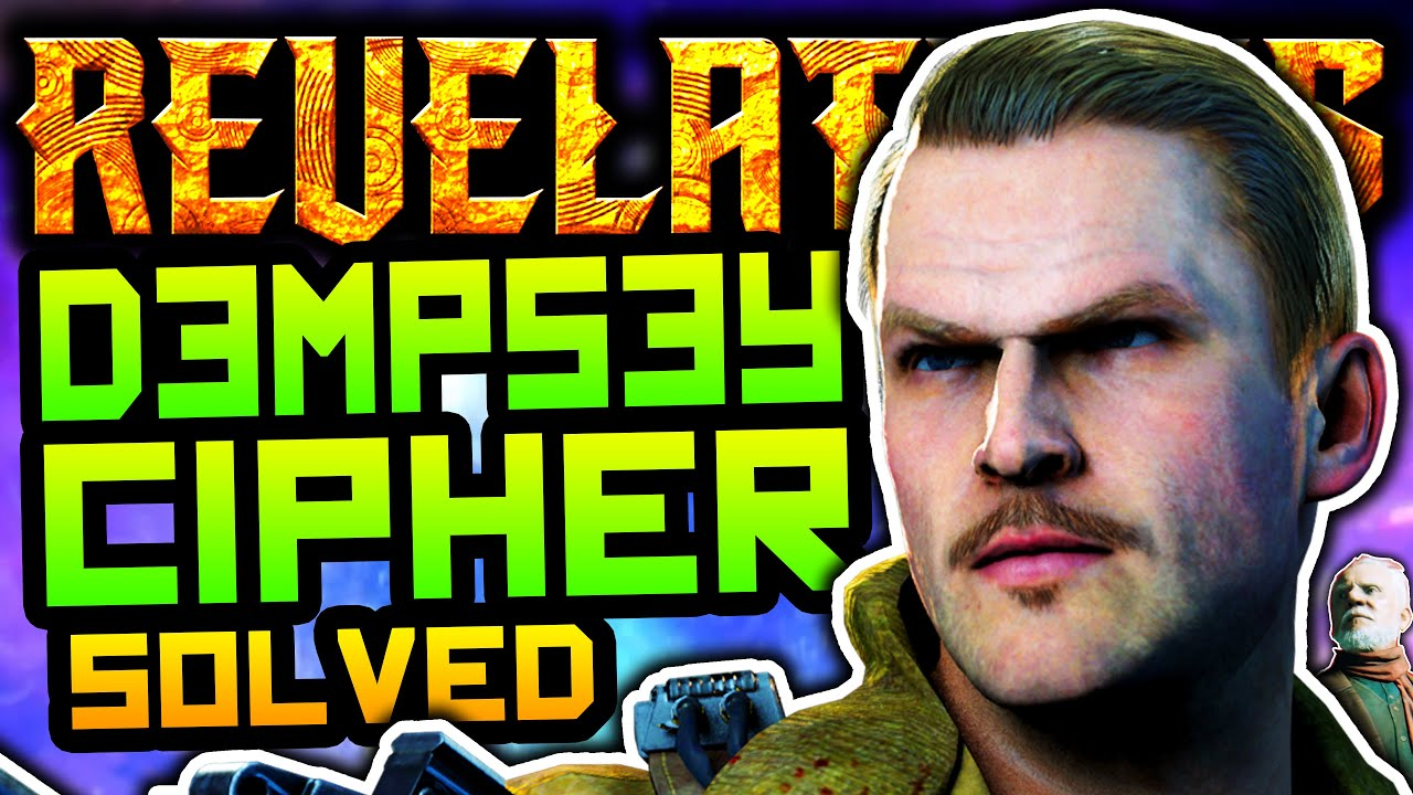 REVELATIONS EASTER EGGS: DYING DEMPSEY CIPHER SOLVED!! MONTY IS EVIL