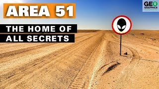 Area 51 – The Home of All Secrets