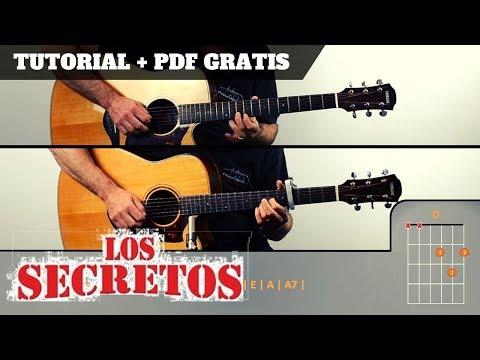 PERO A TU LADO | Los Secretos | PDF GRATIS + TUTORIAL + COVER |