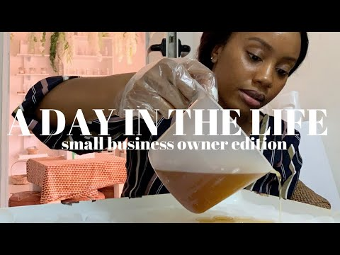 A Day In The Life Of A Small Business Owner | Lagos Nigeria VLOG