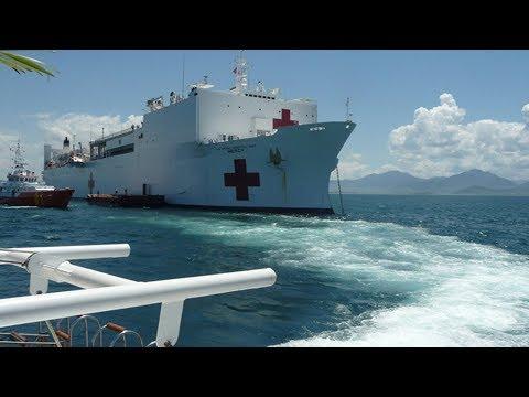 Tàu bệnh viện của Mỹ USNS Mercy đến Việt Nam