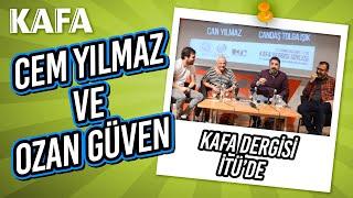 KAFA Dergisi, Cem Yılmaz ve Ozan Güven sürpriziyle İTÜ'deydi!