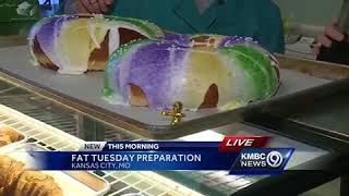Downtown KC bakery offers King Cake's for Fat Tuesday