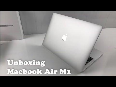 Unboxing Apple MacBook Air M1 2020 8GB/256GB   2021 - YouTube