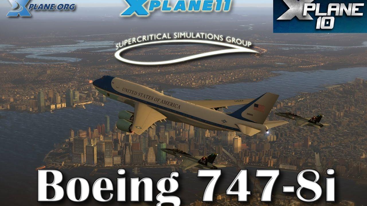 B 747-8 Inter Advanced