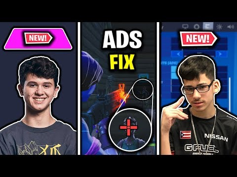 Bugha's NEW Mousepad, Faze Sway's NEW Settings & ADS Bug/Red Crosshair Fix!