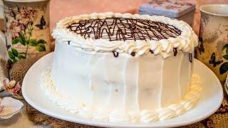 Медовик с черносливом и орехами|Honey cake
