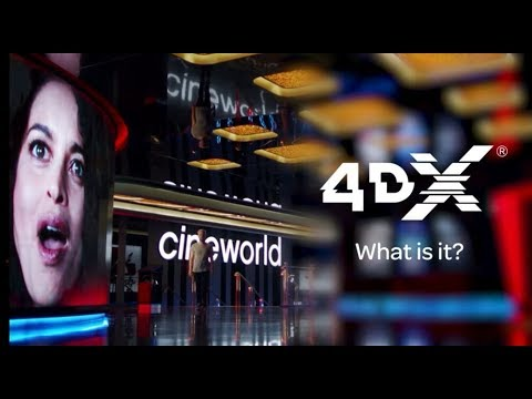 4DX at Cineworld – How does it work?