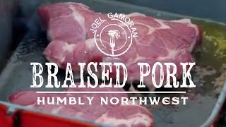 Cider Braised Pork • {humbly Northwest} • Joel Gamoran