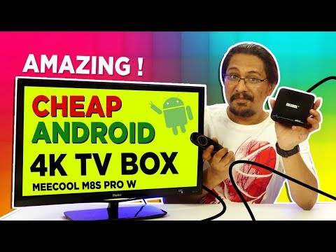 Amazing ! 🔥🔥 Cheap 4K Android Tv Box 2018 - Mecool M8S Pro W