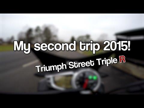 Street Triple R - Second trip 2015