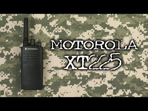 Распаковка Motorola XT225