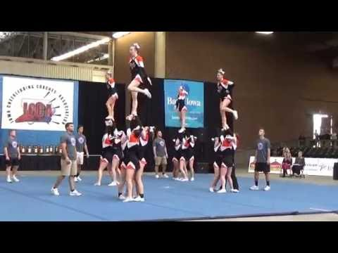 2016 State Cheer Competition-Valley High School