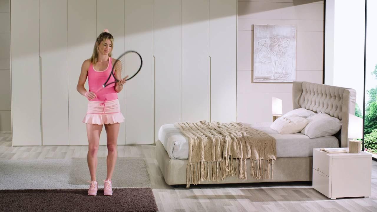 Camera da letto Giessegi - special guest Camila Giorgi - Official ...