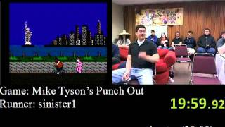 Mike Tyson's Punch-Out - Speed Run (34:53), Part 2 (AGDQ 2012)