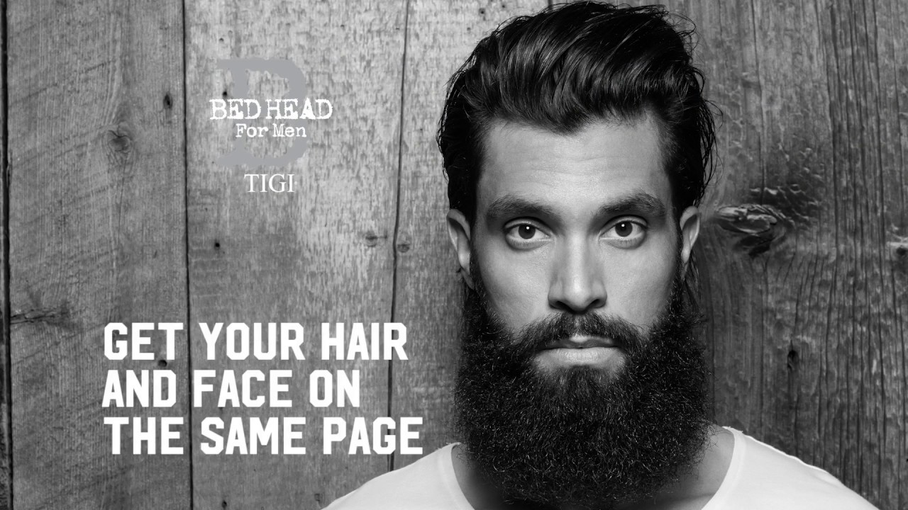 Bed Head for Men by TIGI Bartstyling und Grooming 2017