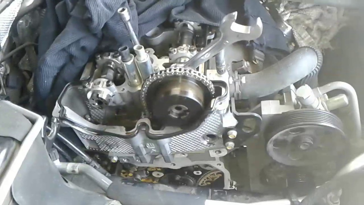 2011 Buick Regal tensioner failed part 2 - YouTube