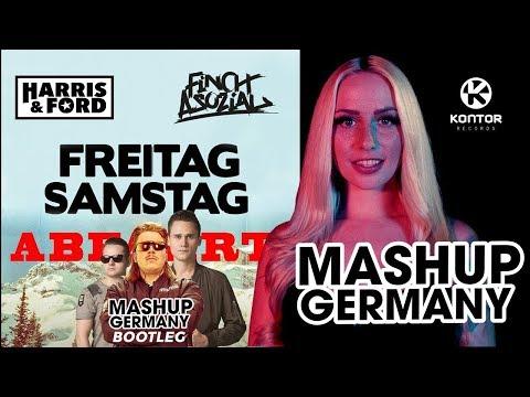 HARRIS & FORD X FiNCH ASOZiAL -  FREITAG SAMSTAG ABFAHRT (MASHUP-GERMANY BOOTLEG)