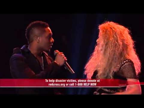 Shakira - I'll stand by you - the voice