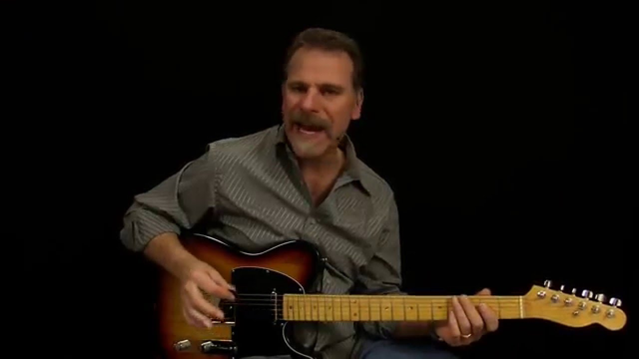 Dwight Yoakam - Guitars And Cadillac's Guitar Lesson - YouTube